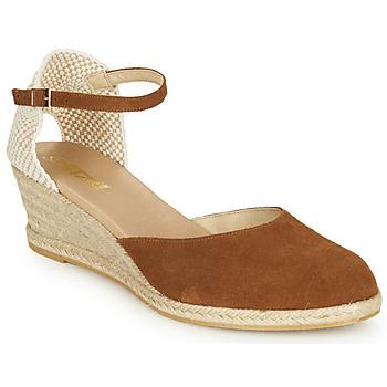 Chaussures Femme Sandales et Nu-pieds So Size JITRON camel