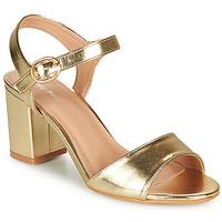Schuhe Damen Sandalen / Sandaletten Moony Mood MEGANE Golden