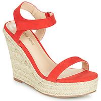 Chaussures Femme Sandales et Nu-pieds Moony Mood MARLEINE rouge