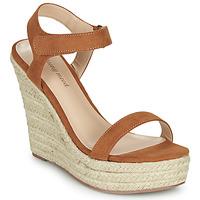 Schuhe Damen Sandalen / Sandaletten Moony Mood MARTA Kamel