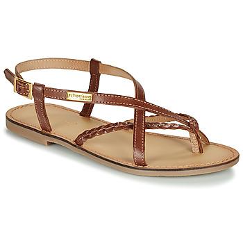 Schuhe Damen Sandalen / Sandaletten Les Tropéziennes par M Belarbi CHOU Braun,
