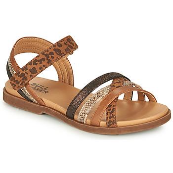 Chaussures Fille Sandales et Nu-pieds Bullboxer ELYSA Marron