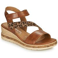 Schuhe Damen Sandalen / Sandaletten Remonte Dorndorf HERNENDEZ Kognac