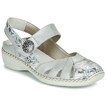 Schuhe Damen Sandalen / Sandaletten Rieker KYLIAN Silbrig