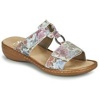 Schuhe Damen Pantoffel Rieker MOLA Bunt