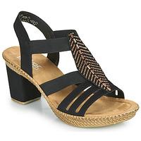 Schuhe Damen Sandalen / Sandaletten Rieker ROOT