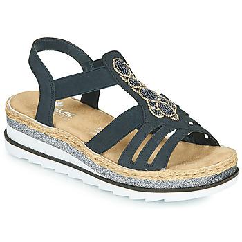 Schuhe Damen Sandalen / Sandaletten Rieker LOUANN