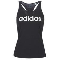 Vêtements Femme Débardeurs / T-shirts sans manche adidas Performance E LIN SLIM TK Noir