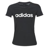 Vêtements Femme T-shirts manches courtes adidas Performance E LIN SLIM T Noir