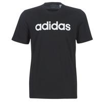 Vêtements Homme T-shirts manches courtes adidas Performance E LIN TEE Noir