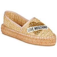 Chaussures Femme Espadrilles Love Moschino JA10393G0A Raffia