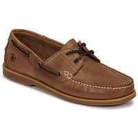 Schuhe Herren Bootsschuhe Lumberjack NAVIGATOR Braun,