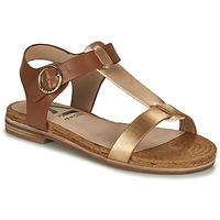 Chaussures Femme Sandales et Nu-pieds Armistice RIO SUNSET Marron / Doré