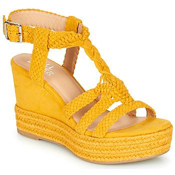 Chaussures Femme Sandales et Nu-pieds Bullboxer 175018F2T Jaune