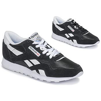 Schuhe Damen Sneaker Low Reebok Classic CL NYLON
