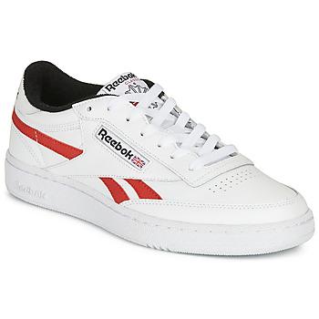 Schuhe Sneaker Low Reebok Classic CLUB C REVENGE MU Weiß / Rot