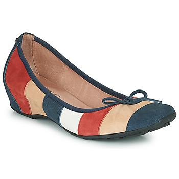 Chaussures Femme Ballerines / babies Mam'Zelle FLUTE Bleu / Beige / Bordeaux