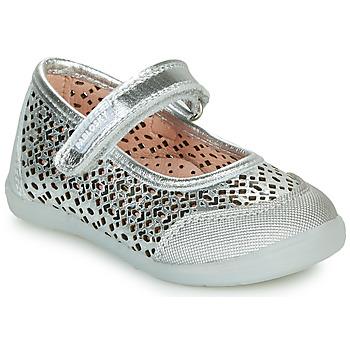 Chaussures Fille Ballerines / babies Pablosky  Argenté