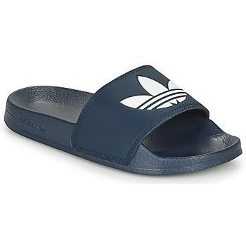 Chaussures Claquettes adidas Originals ADILETTE LITE Bleu
