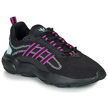 Chaussures Femme Baskets basses adidas Originals HAIWEE W Noir / violet