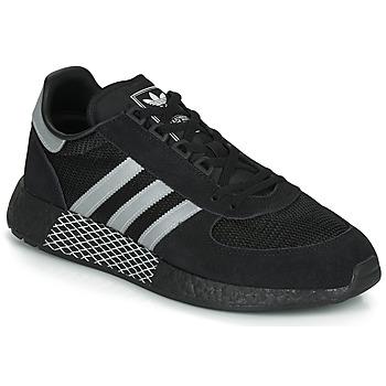 Chaussures Baskets basses adidas Originals MARATHON TECH Noir / blanc