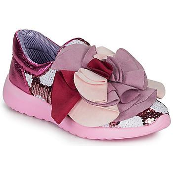Chaussures Femme Baskets basses Irregular Choice RAGTIME RUFFLES Pink