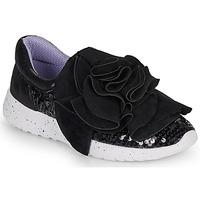 Chaussures Femme Baskets basses Irregular Choice RAGTIME RUFFLES Black