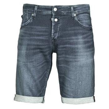 Kleidung Herren Shorts / Bermudas Le Temps des Cerises JOGG Blau
