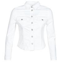 Kleidung Damen Jeansjacken Le Temps des Cerises LILLY Weiß