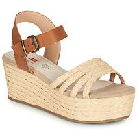 Chaussures Femme Sandales et Nu-pieds MTNG GARISSON Crème