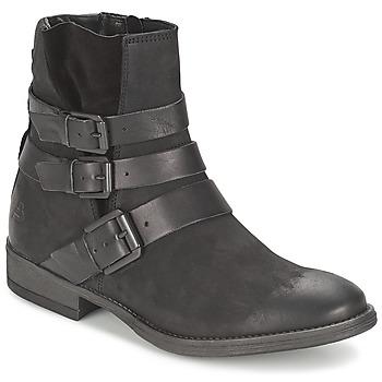 Schuhe Damen Boots Bullboxer AXIMO Schwarz