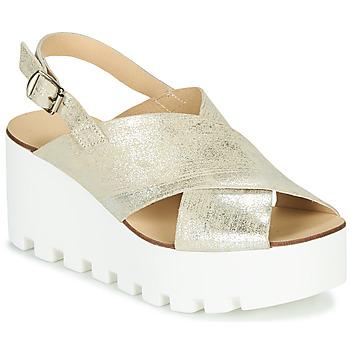 Schuhe Damen Sandalen / Sandaletten Sweet Lemon SUAX Golden
