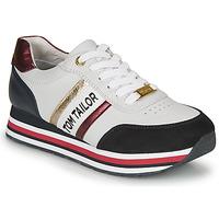 Chaussures Femme Baskets basses Tom Tailor 8095504 Blanc / Bleu / Rouge
