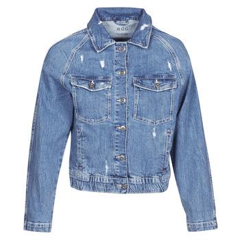 Kleidung Damen Jeansjacken Esprit ESPRILA Blau