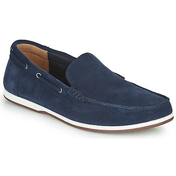 Schuhe Herren Bootsschuhe Clarks MORVEN SUN Marineblau