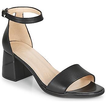 Chaussures Femme Sandales et Nu-pieds Wonders NATURE Noir