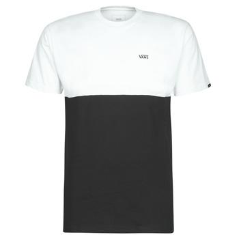 Vêtements Homme T-shirts manches courtes Vans COLORBLOCK TEE Noir / Blanc