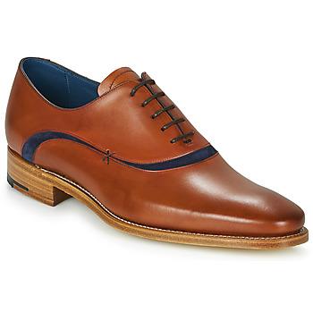 Schuhe Herren Richelieu Barker EMERSON Braun, / Blau
