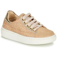 Schuhe Mädchen Sneaker Low Shoo Pom FLASH ZIP LACE Beige