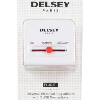 Sacs Sacs de voyage Delsey Adaptateur universel avec ports USB Multicolor