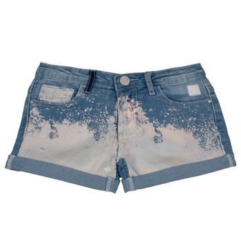 Vêtements Fille Shorts / Bermudas Desigual JORBA Bleu