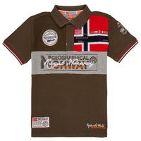 Abbigliamento Bambino Polo maniche corte Geographical Norway KIDNEY