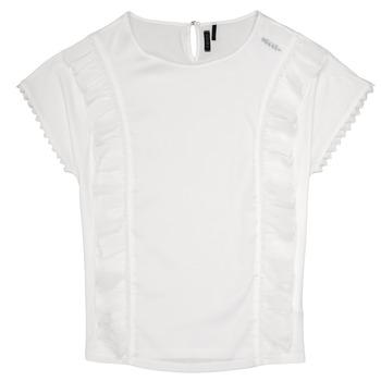 Kleidung Mädchen Tops / Blusen Ikks CHLOE Weiß