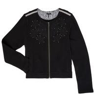 Vêtements Fille Gilets / Cardigans Ikks LOUKAS Noir