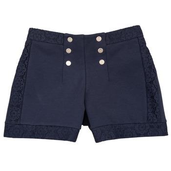 Vêtements Fille Shorts / Bermudas Ikks SOLISSO Marine