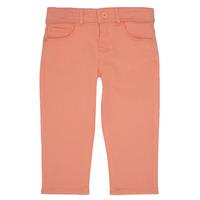 Vêtements Fille Pantalons 5 poches Ikks CARLOTTA Orange