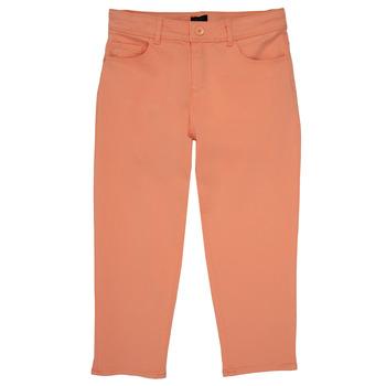 Vêtements Fille Pantalons 5 poches Ikks NADEGE Orange