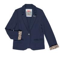 Kleidung Mädchen Jacken / Blazers Ikks NIKO Marineblau