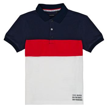 Kleidung Jungen Polohemden Ikks LORIE Weiß