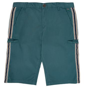 Kleidung Jungen Shorts / Bermudas Ikks MANUEL Blau
